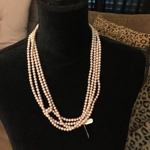 Jewelry - Elegant 100 in Pearl Necklace